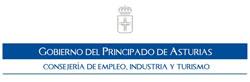 Logo Consejería de empleo, industria y turismo de Asturias