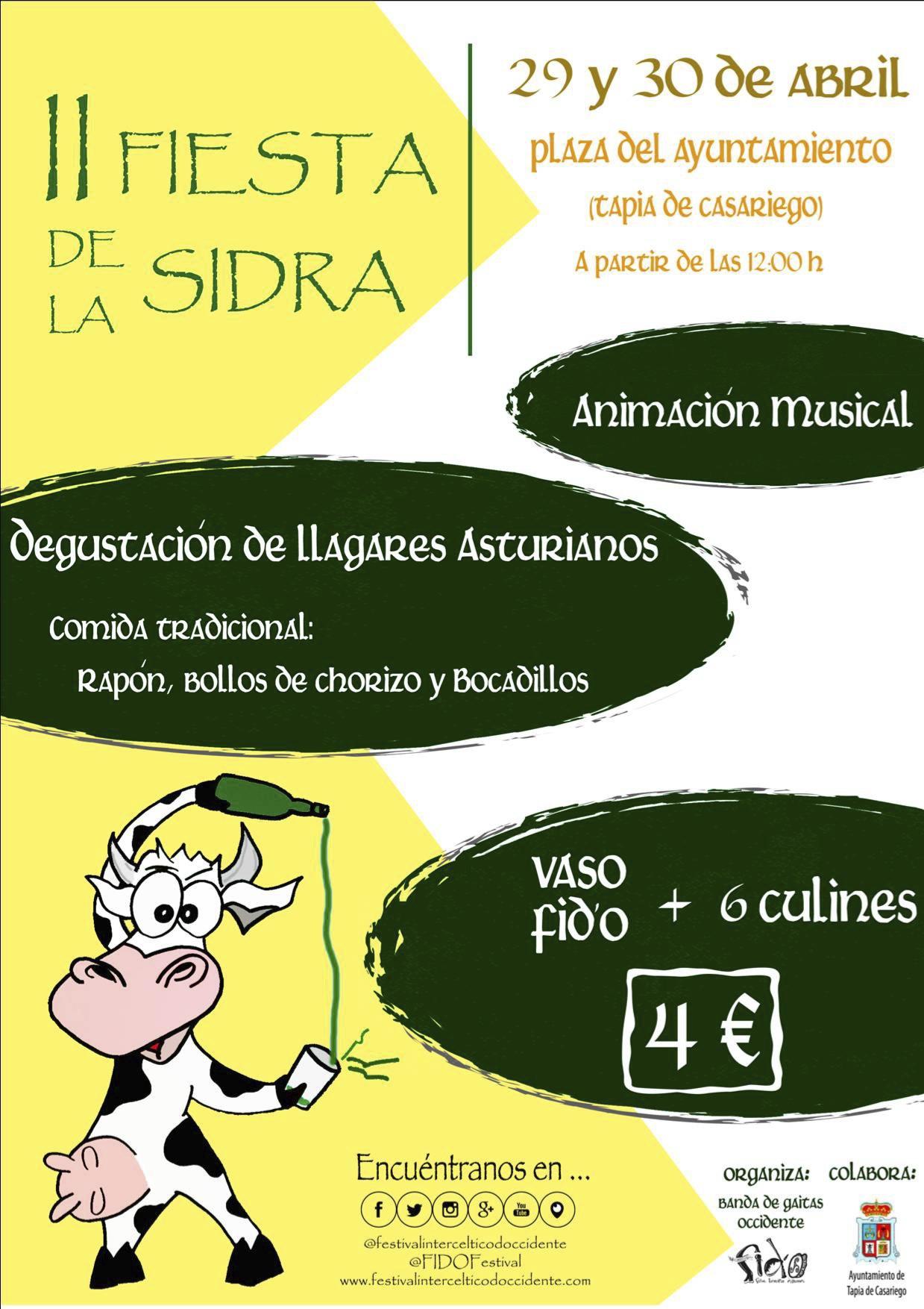 Cartel Fiesta de la Sidra copia